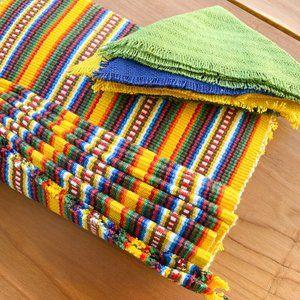 Authentic Peruvian Blanket Placemats & Napkins